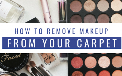 Best Ways to Remove Makeup from Your Carpet