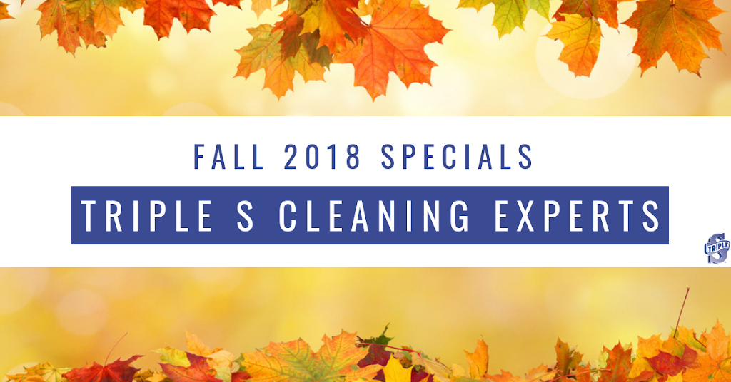 Fall 2018 Specials at Triple S