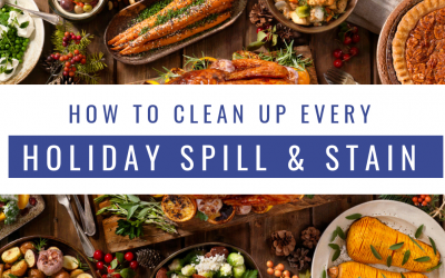 Thanksgiving Day Spills and Stain Removal